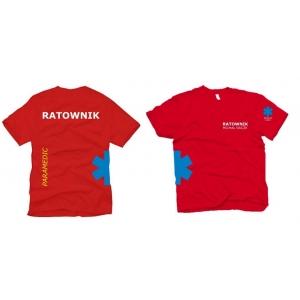Koszulka RATOWNIK- PARAMEDIC