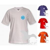 OUTLET Koszulka z nadrukiem LEKARZ rozmiar L czerwona