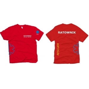 Koszulka RATOWNIK- RESCUER