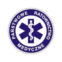 Naklejka Państwowe Ratownictwo Medyczne