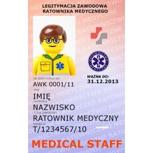 Legitymacja Zawodowa Ratownika Medycznego