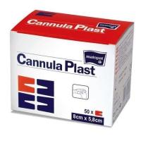 Opatrunek włókninowy do mocowania kaniul Cannula Plast 7,2 cm x 5 cm 50 szt.