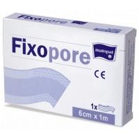 Fixopore plaster specjalistyczny z opatrunkiem do cięcia, włókninowy 8cm x 1m