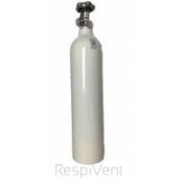 Butla aluminiowa na tlen medyczny o pojemności 2,7l