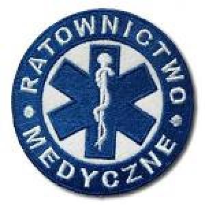 Ratownictwo medyczne niebieskie 8,5 cm