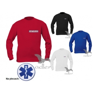 Bluza haftowane emblematy