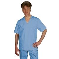 OUTLET Bluza męska PATRYK krótki rękaw rozmiar 50