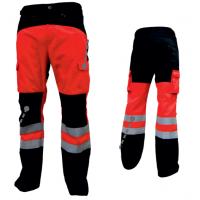 OUTLET SIGMA Spodnie letnie PRM Neon + Granat