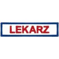 LEKARZ - plakietka